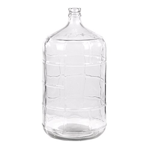 Intelligent Design  Retro 5 gal Glass Water Jug