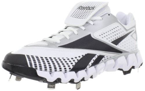 Reebok Men's Zig Cooperstown Low M-M, White/Black, 13 M US