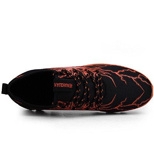 Y Sneakers Hombre Para naranja Aire 5 Running En Zapatillas Correr De Deportes Zapatos Libre Asfalto Montaña 4nOPnxg
