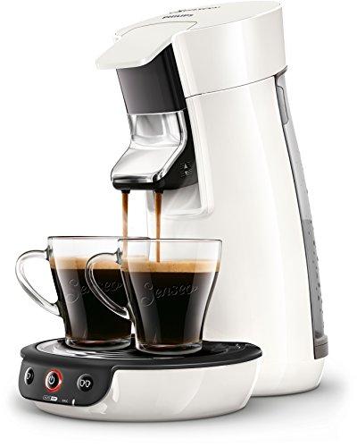 Senseo HD7829/00 Viva Café Kaffeepadmaschine (Kaffee Boost Technologie) weiß