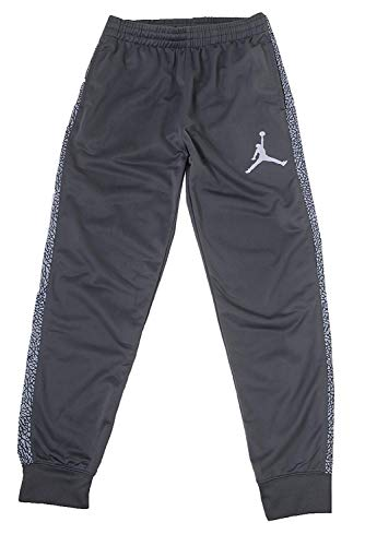 NIKE Jordan Big Boys Sport Skinny Jogger Pants (XL(13-15YRS), Dark Grey/Light Grey)