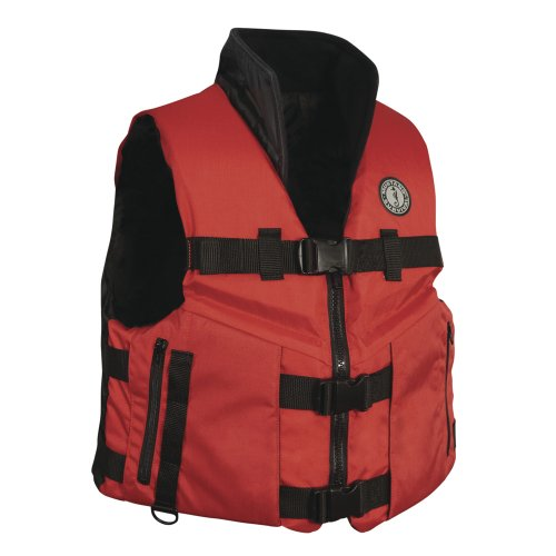 Mustang Survival Accel 100 High-Speed PFD, Red/Black, XX-Large