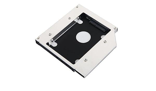 DeYoung 2 nd HDD SSD Disco Duro SATA Caddy para Toshiba Satellite ...