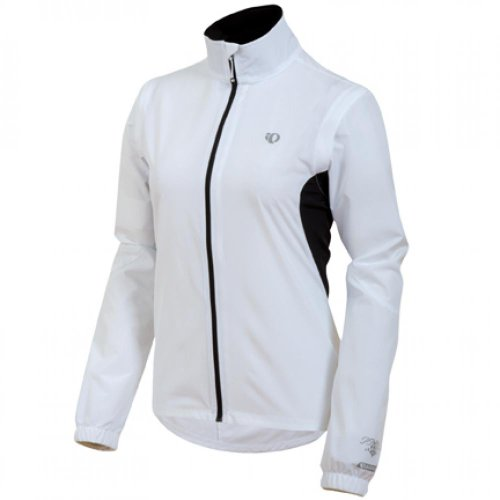 (Pearl iZUMi Women's Select Barrier Convertible Jacket, White, X-Small)