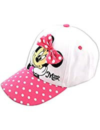 Disney Little Girls Minnie Mouse Character Baseball Cap, for Little Girls, Age 4-7 (Minnie Mouse Pink, Age 4-7)
