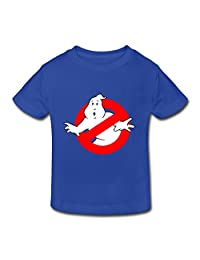 Ambom Ghostbusters Logo Little Boys Girls Short-Sleeve T Shirt For Toddlers