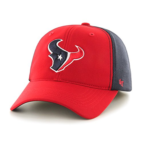 NFL Houston Texans '47 Draft Day Closer Stretch Fit Hat, One Size, Red - Nfl Draft Houston Texans
