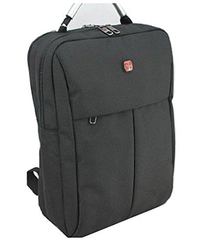 Dernier Herren Rucksack schwarz Laptoptasche Unitasche Schultasche 43x30cm