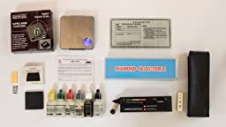 Electronic Scale Gold Silver Weigh Acid Test Kit Detect Diamond Tester Jewelry