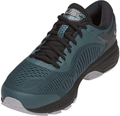 ASICS Men's Gel-Kayano 25 Running Shoes, 9.5M, IRONCLAD/Black 3