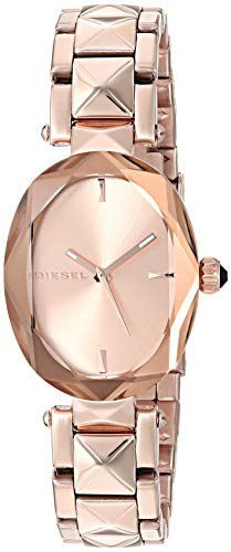 Diesel Women's 'Julez' Quartz and Stainless-Steel-Plated Watch, Color:Rose Gold-Toned (Model: DZ5580)