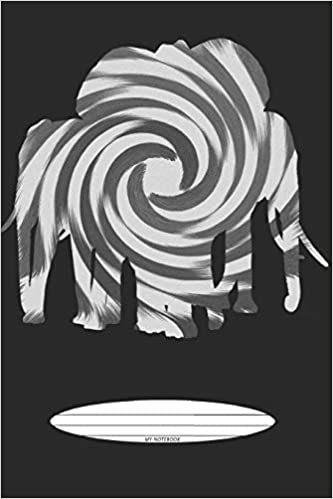 Amazon Com My Notebook Black White Abstract Animals