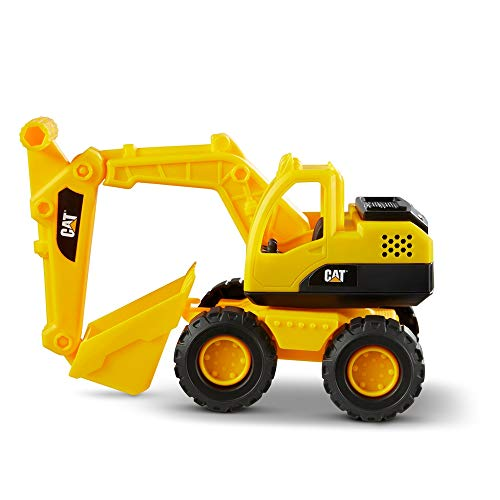 CatToysOfficial Cat Construction Fleet Toy Excavator