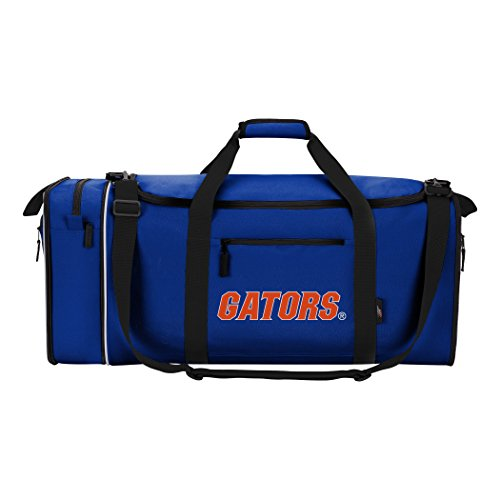 (Officially Licensed NCAA Florida Gators Steal Duffel Bag )