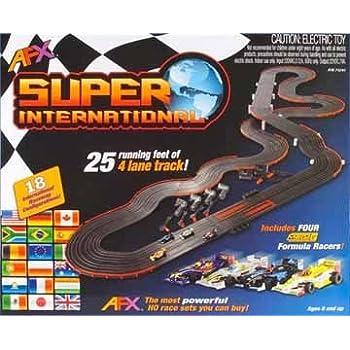 Amazon Com Super Loop Speedway Slot Car Electric Power