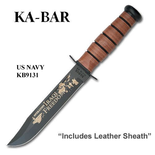 KA-BAR Operation Iraqi Freedom, USN