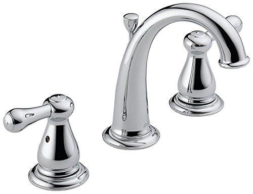 Delta 3575LF Leland Two Handle Widespread Bathroom Faucet, Chrome