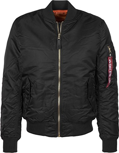 Jacke SF Alpha Black MA 1 Wmn Industries AHw1xF
