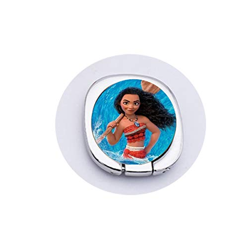 Moana Princess Cartoon Children Necklace Maui Handan Spotted Pig Anime Figures Painting Glass Cabochon Toy Pendant Mobilee Phone Grip