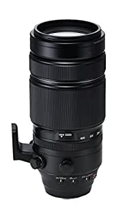 Fujifilm Fujinon XF 100 - 400 mm f/4.5 - 5.6 R OIS WR - Teleobjetivo para Fujifilm con montura X (longitud focal 100 - 400 mm, apertura f/ 4.5 - 5.6 y mínima f/22, tamaño del filtro de 77 mm), negro