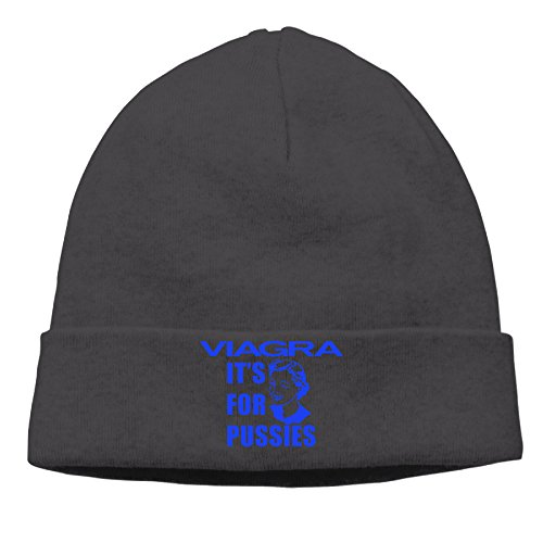 Price comparison product image Viagra Its For Pussies Beanie Hat Soft Sleep Caps