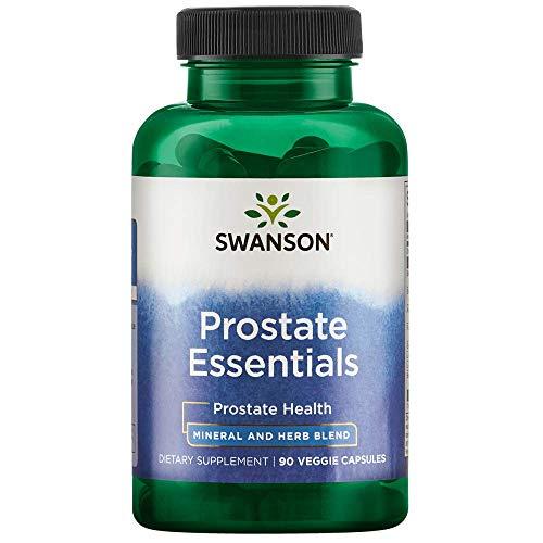 Swanson Prostate Essentials 90 Veg Capsules