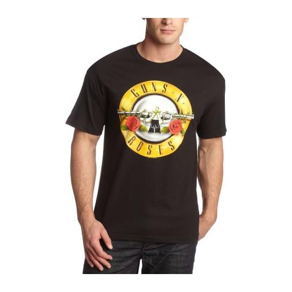 Bravado-Mens-Guns-N-Roses-Bullet-T-Shirt