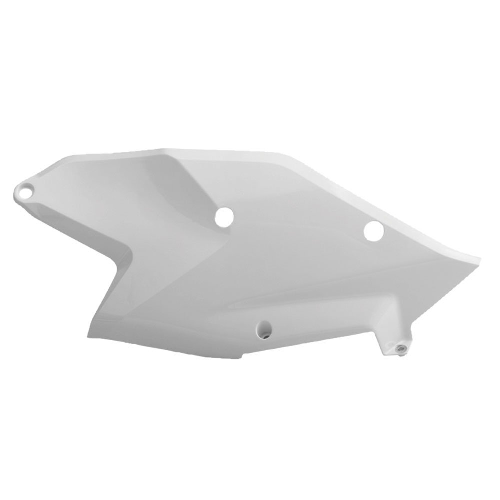 Polisport Side Panels 16 White - Fits: KTM 250 EXC-F 2017-2018