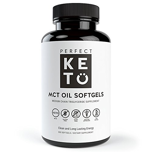 Perfect Keto MCT Oil Soft Gels