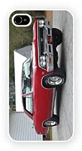 Chevrolet Chevelle I Red, durable glossy case for the iPhone 4 and 4S by ruishername