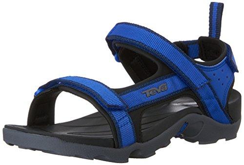 Teva Tanza Sport Sandal (Little Kid/Big Kid), Blue/Grey-T, 5 M US Big Kid (Teva Sandals Kids compare prices)