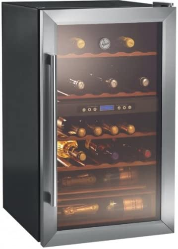 Connettivit/à Wi-Fi 42 bottiglie Cantinetta Vino Nero 885x530x580 mm Hoover HWC 150 EELW