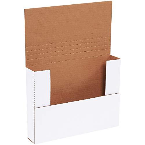 (Aviditi M1BK Corrugated Easy-Fold Mailer, 11-1/8