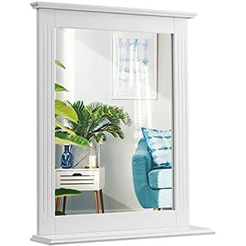 White Elegant Home Fashions Elegant Home Fashions Chatham Wall Mirror Dropship Warehouse 1 A6C599