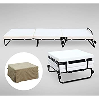 sleeper ottoman amazoncom gracelove folding convertible sofa bed ottoman couch