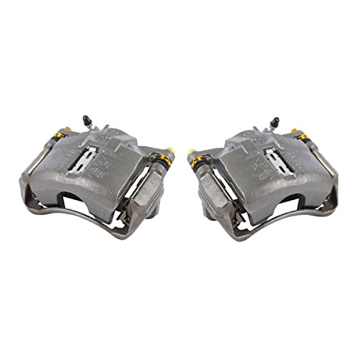 CKOE01550 [ 2 ] FRONT Premium Grade OE Semi-Loaded Caliper Assembly Pair Set ()