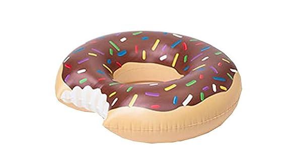 Amazon.com: Donut Swim Ring Inflatable Flotante Anillo ...