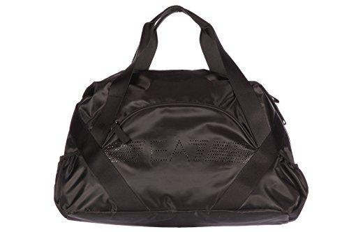 Emporio Armani EA7 borsa borsone tracolla donna fitness palestra 7 lines evolution nero