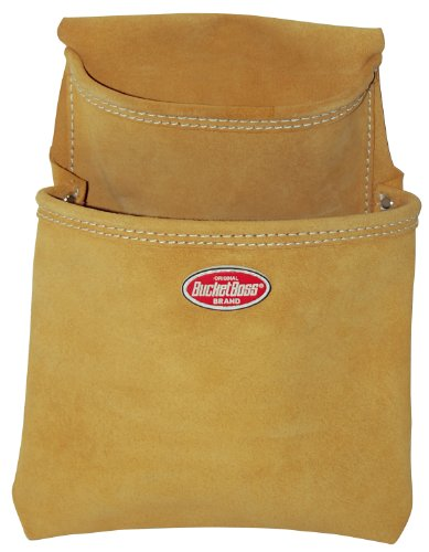 Bucket Boss 54483SP Suede Leather 2-Pocket Dry Wall (Boss Leather)