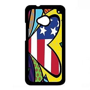 Britto Phone Case Britto Cellphone Cover Case Britto HTC One M7 Phone Case