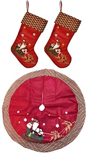 Christmas Skirts Stockings Tree (Keskov 48