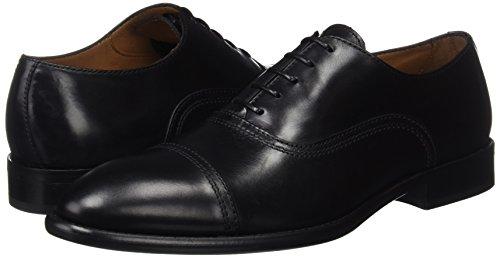 N de L Negro Lottusse D para Zapatos L Oxford Hombre D Cordones Negro L6553 O o ORZqxwRv