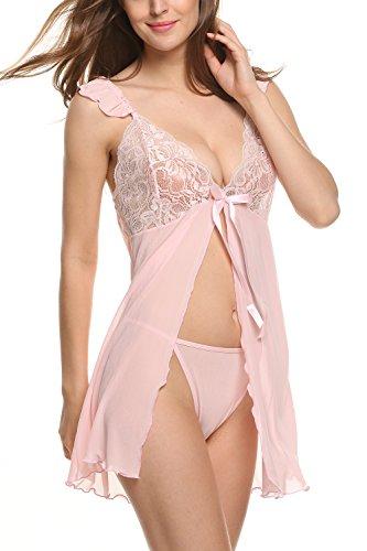 Style2 Avidlove Pink Pink Avidlove Babydoll Babydoll Donna Donna Style2 qxxptnvZIw