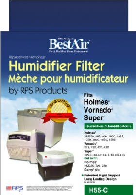(Holmes Humidifier Wick Filters Circular For Models: Hm-250, Hm-405, Hm-406, Hm-2000)