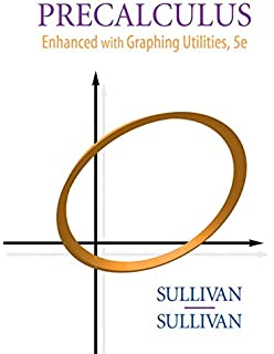 Amazon precalculus enhanced with graphing utilities sullivan precalculus enhanced with graphing utilities 5th edition fandeluxe Choice Image