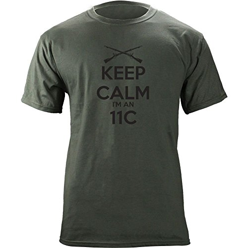 Classic Keep Calm I'm an 11C Indirect Fire T-Shirt supplier