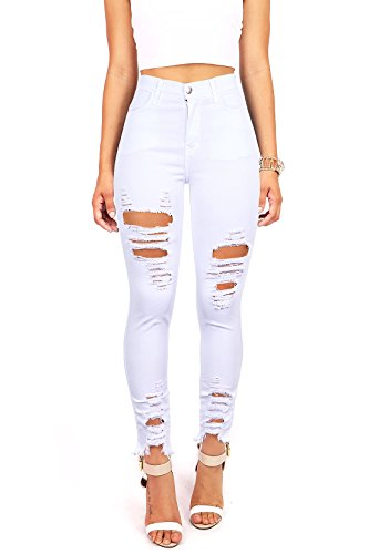 Vibrant Womens Juniors Jeans Distressing product image