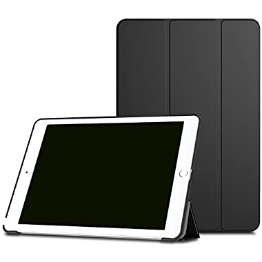 iPad Pro 9.7 Case - MoKo Ultra Slim Lightweight Smart-shell Stand Cover Case with Auto Wake / Sleep for Apple iPad Pro 9.7 Inch 2016 Release Tablet, BLACK
