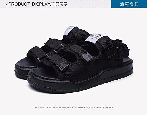 Sommer Das neue Strandschuhe Männer Schuhe Sandalen Trendige Hausschuhe Trend Männer Lochsandalen Rutschfest ,schwarz,US=8.5?UK=8,EU=42?CN=43