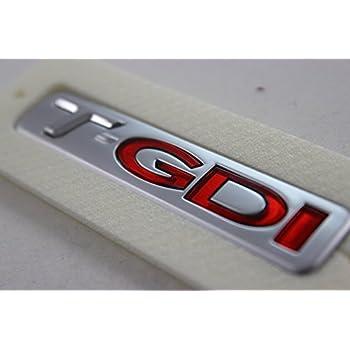 KIA Optima K5 2011 OEM GENUINE T GDI Logo Emblem Rear Trunk 863112T100